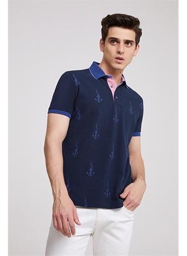 D'S Damat Ds Damat Regular Fit T-Shirt Lacivert
